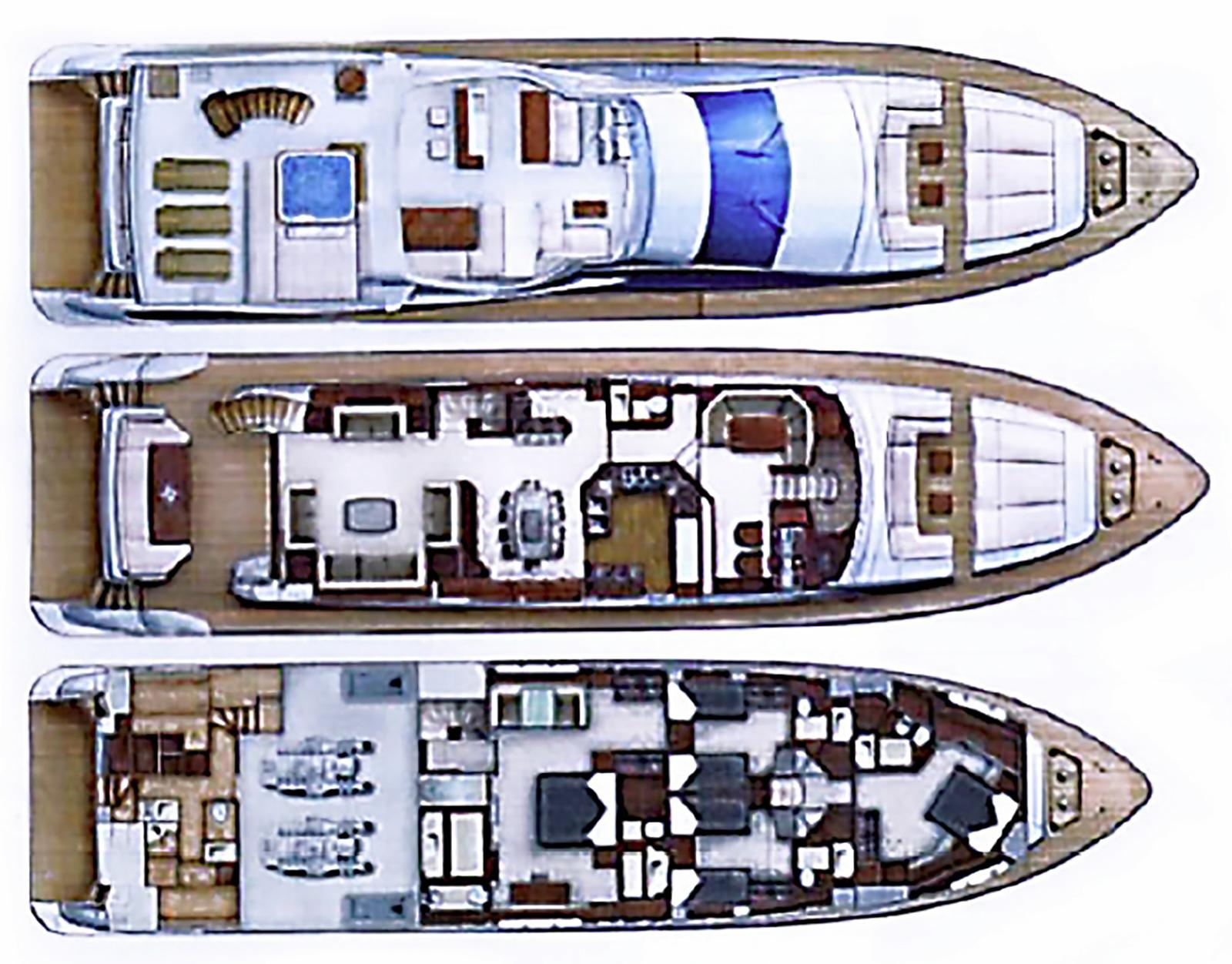 Azimut 95 2008 layout