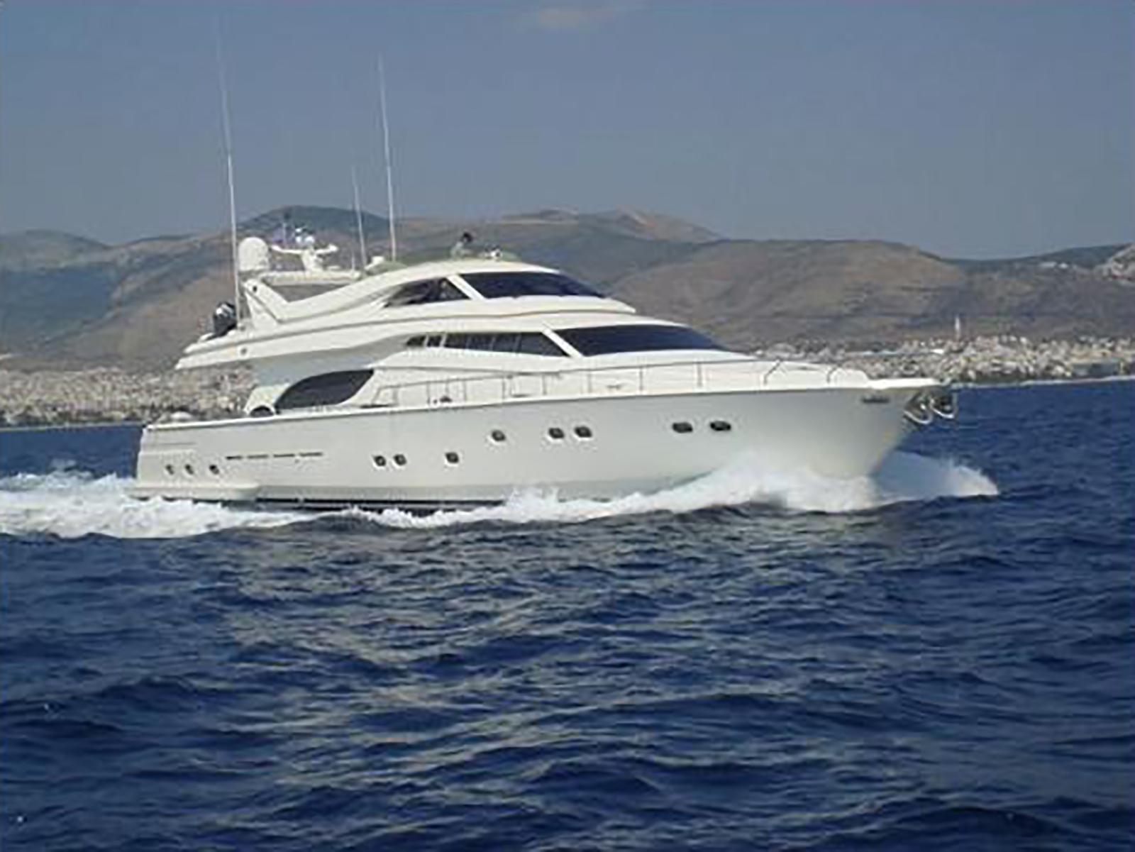 ferretti 80 rph 2000 yacht for sale