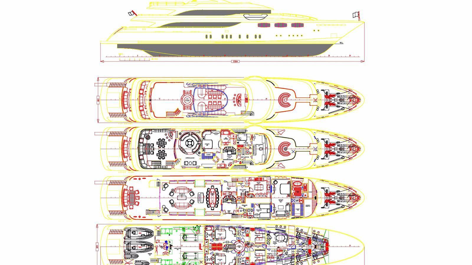 Luxury charter yacht - MIA RAMA -54m - Golden Yachts