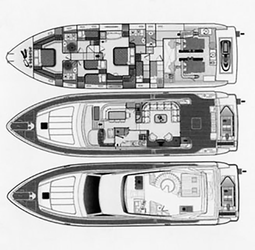 M/Y SERENE - 21m - Ferretti - yacht for charter