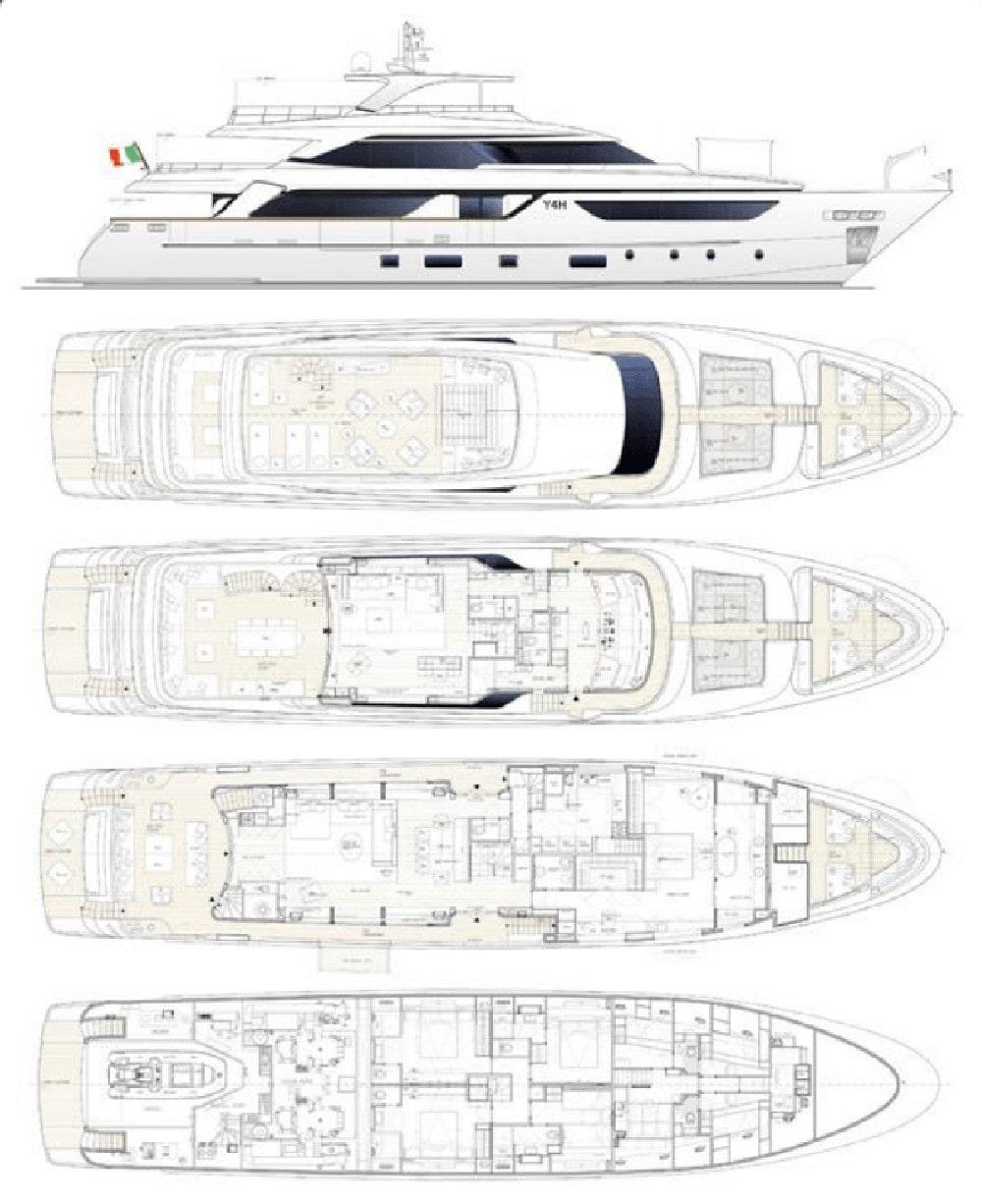 Sanlorenzo SD 126 - 2017 - for Sale